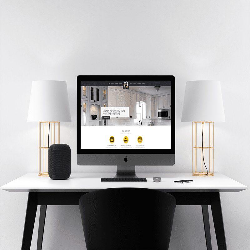 Website Design for Just In Time Custom Home